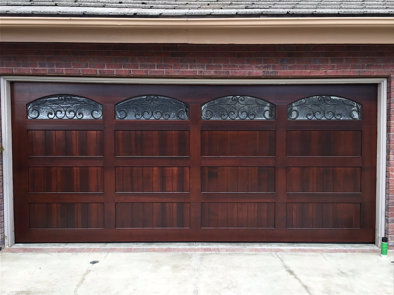 Wonderful ... Contemporary Or Something Else   A Beautiful Custom Wood Garage Door  Will Take The Look Of Your Home To A Whole New Level. If You Can Dream It    We Can ...