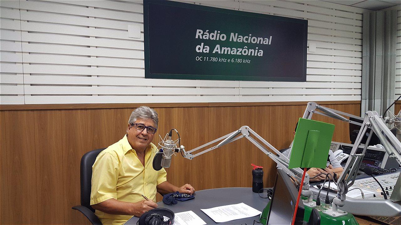 Resultado de imagem para airton medeiros radio nacional da amazonia