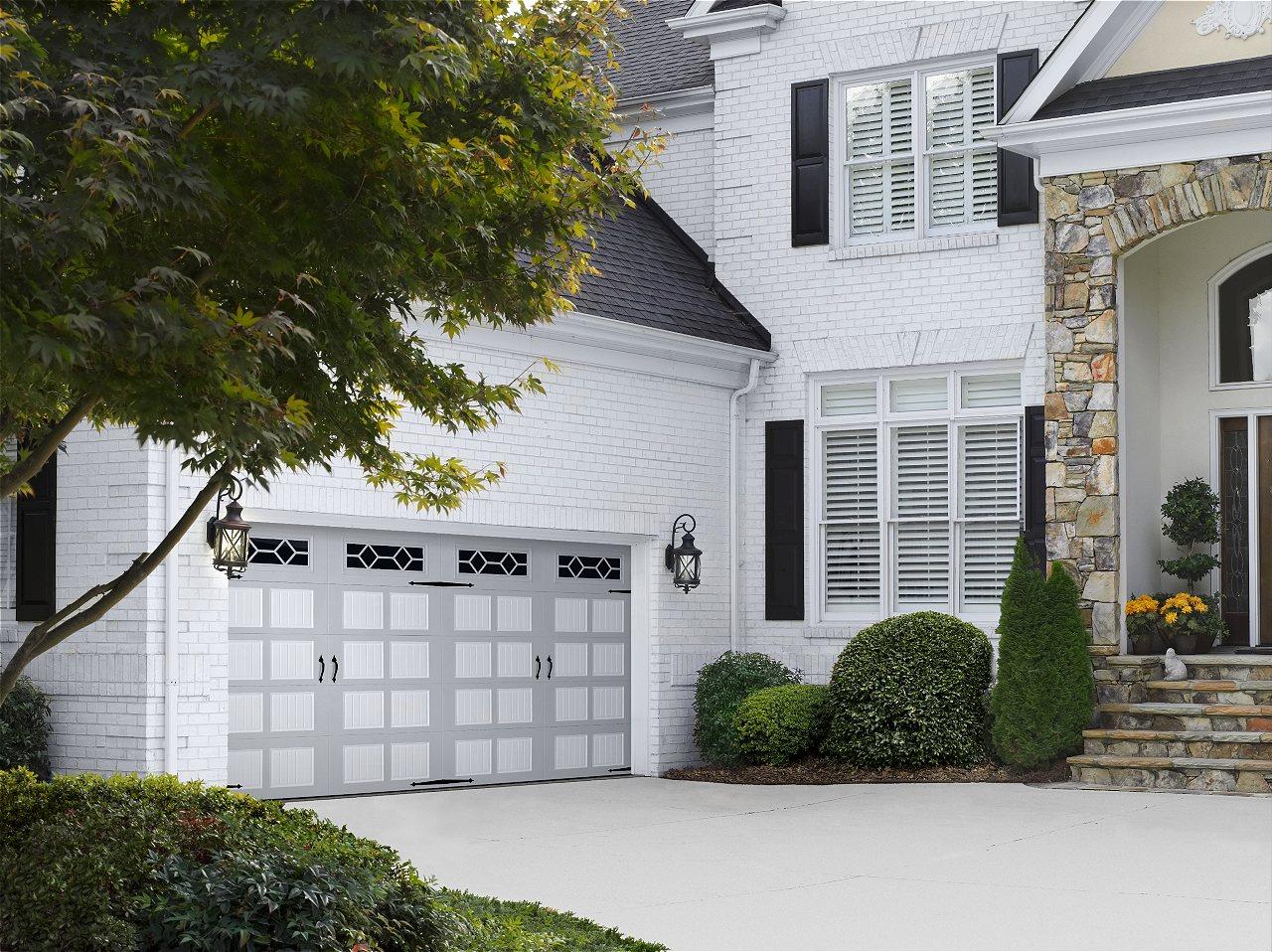 Amarr Oak Summit Garage Doors amarr oak summit carriage house garage doors   on trac garage doors