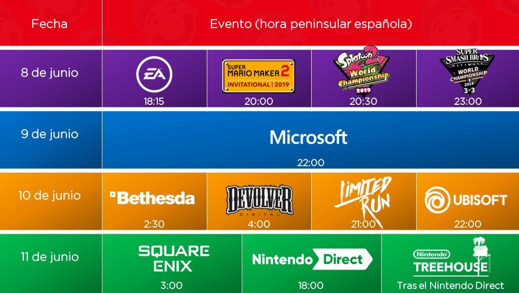 Direct and Schedule June 11 at E3 2019: Square Enix, Nintendo Direct
