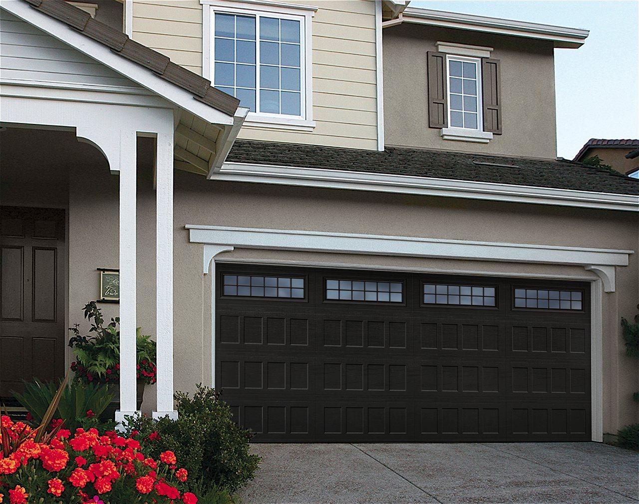Amarr Oak Summit Garage Doors amarr oak summit carriage house garage doors | on trac garage doors