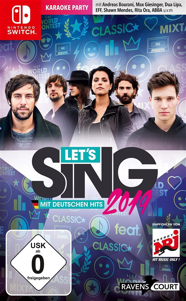 Let\'s Sing 2019 - EU cover art, screens, and more | GoNintendo