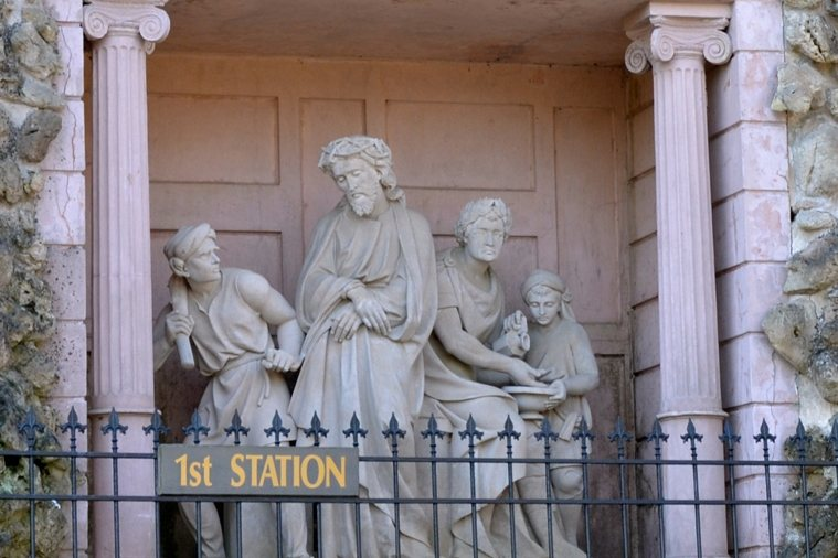 picture about Stations of the Cross for Youth Printable referred to as Stations of the Cross Gallery
