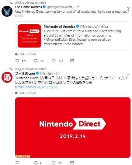 Anunciado nuevo Nintendo Direct para mañana