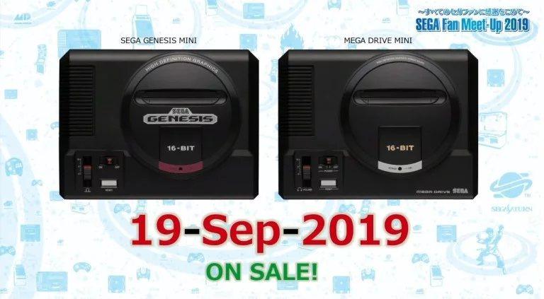 El Sega Genesis Mini ya tiene fecha de lanzamiento — CONFIRMADO