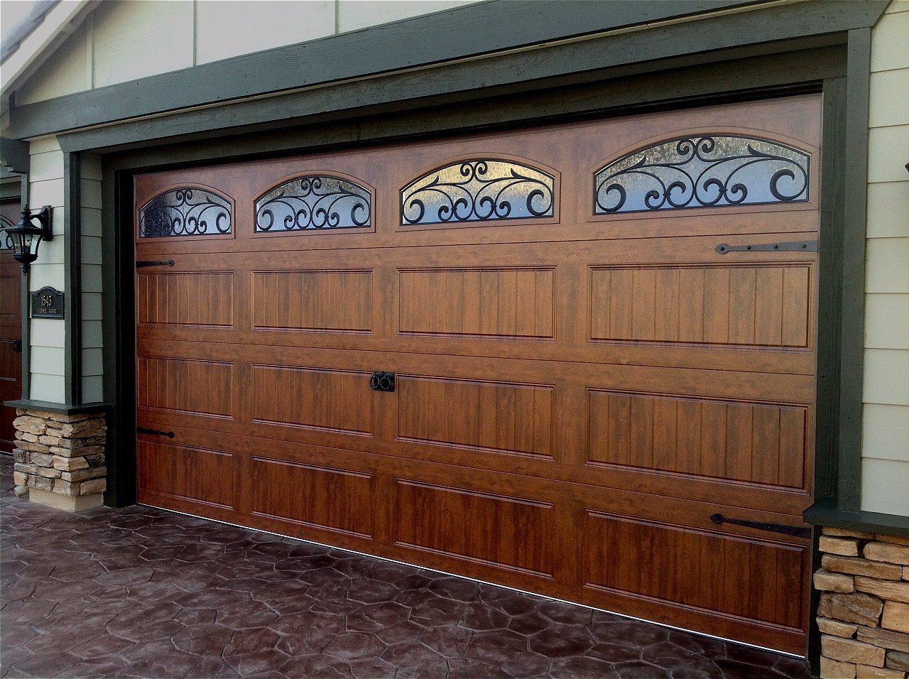Clopay Gallery Steel Woodgrain Garage Doors On Trac Garage Doors