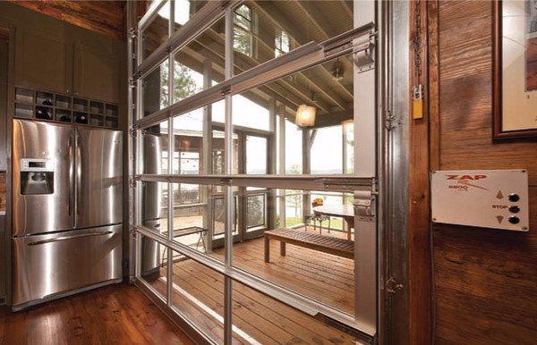 full view garage doorClopay Avante Full View Aluminum Glass Garage Doors  On Trac
