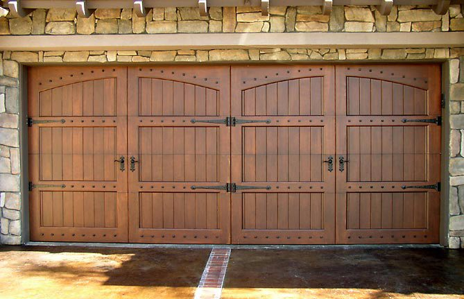 ... Contemporary Or Something Else   A Beautiful Custom Wood Garage Door  Will Take The Look Of Your Home To A Whole New Level. If You Can Dream It    We Can ...