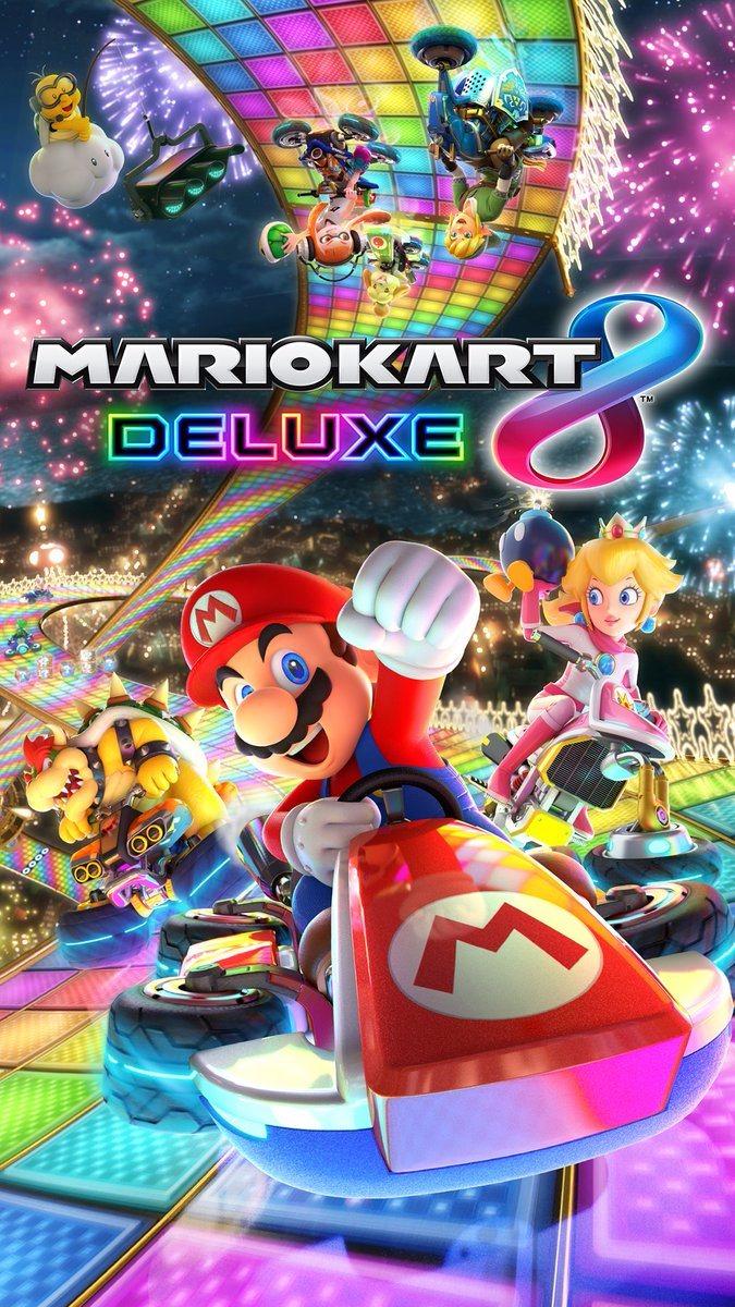 mario kart 8 deluxe - official desktop/mobile wallpaper | gonintendo