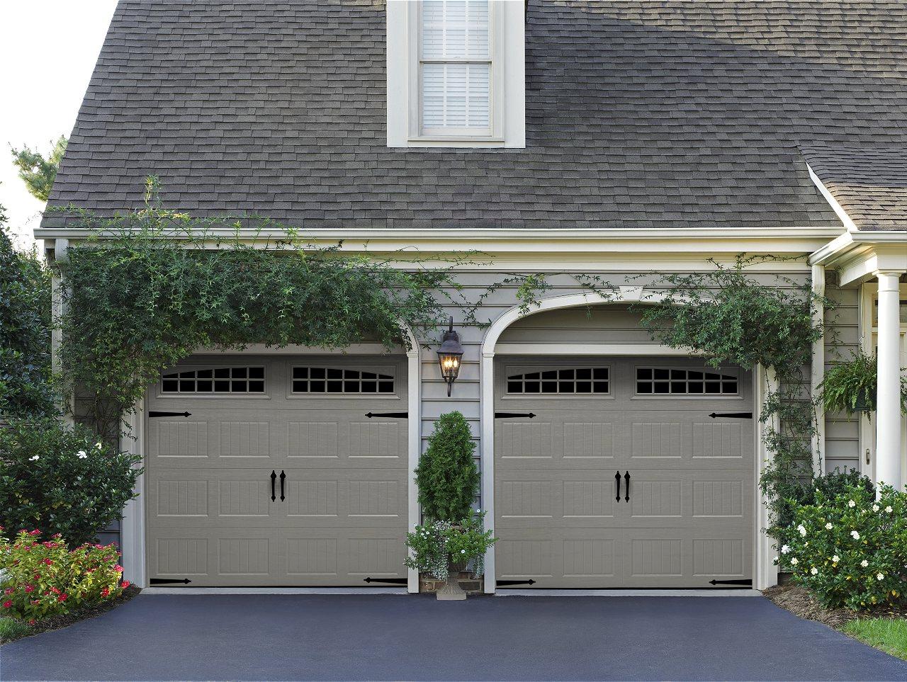 Amarr Oak Summit Carriage House Garage Doors | On Trac Garage Doors