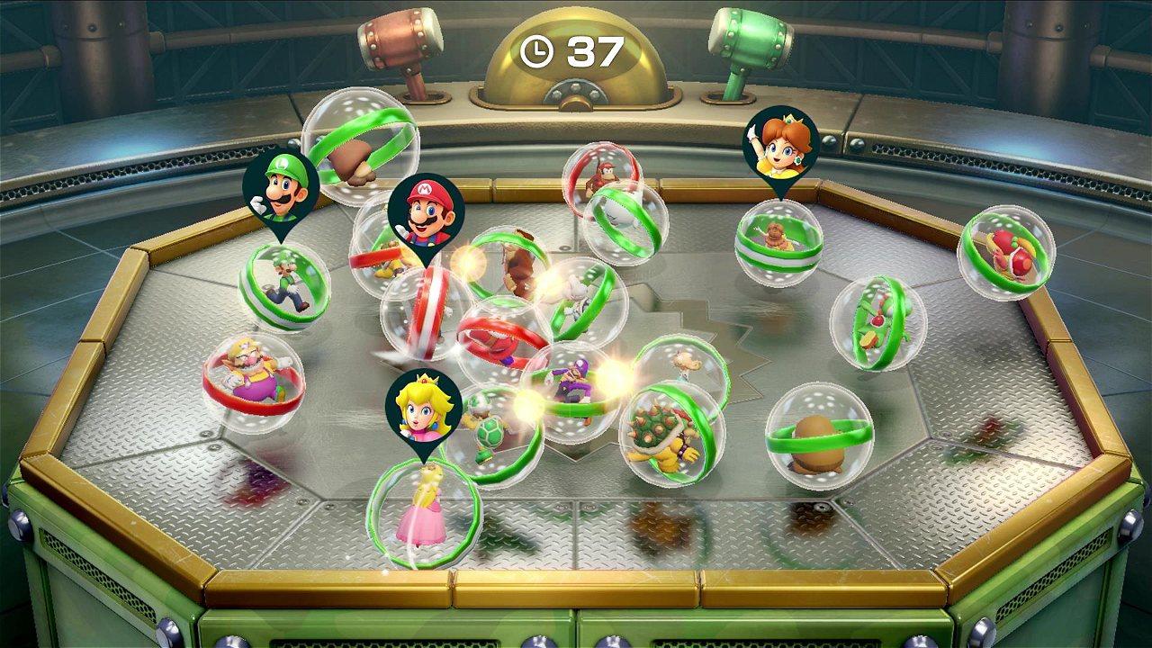Act Anunciado Super Mario Party Para Nintendo Switch Disponible