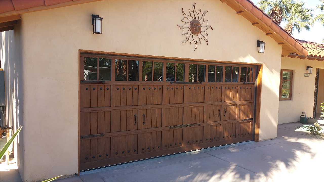 Now available with v-groove panels this door is like nothing you\u0027ve ever seen. (woodgrain available in steel only) & Martin Pinnacle Garage Doors | On Trac Garage Doors