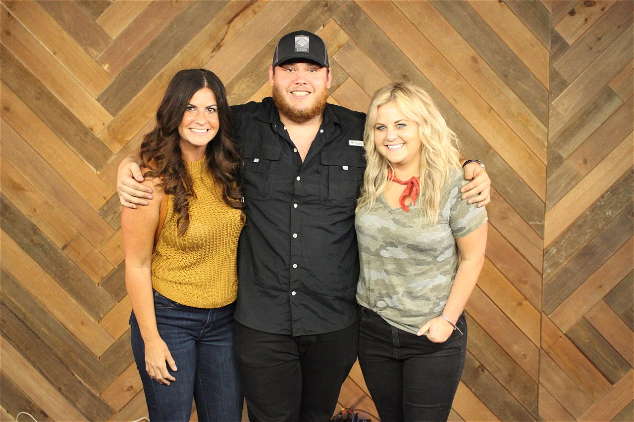 Luke combs album release party meet greets web girl 979 is share to facebook share to twitter share to print share to more m4hsunfo