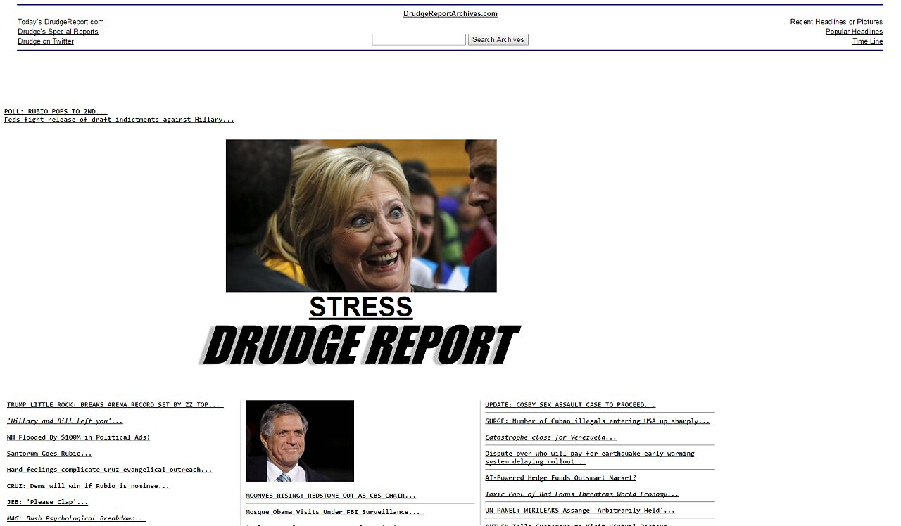 drudge report tweets