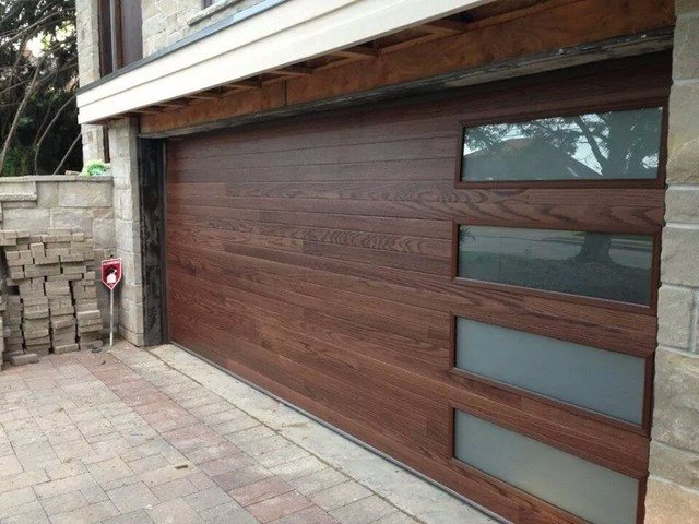Transform your home with the warmth and appeal of a CHI Accents Planks \u0026 Woodtones garage door. Choose from four rich and exquisite hues that fit flawlessly ... & CHI Accents Planks and Woodtones | On Trac Garage Doors